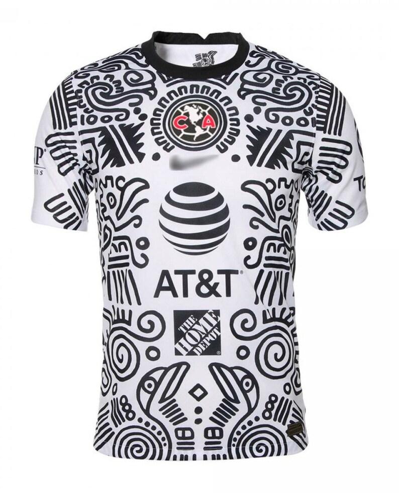 Camisa del Am\u00e9rica Club Am\u00e9rica Third kit 20202021 jersey  kit Tercera Camiseta Playera de Hombre S-XL Size