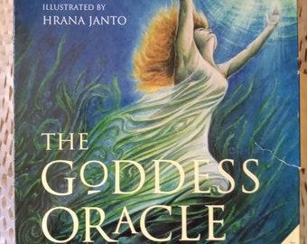 The Goddess Oracle - A Way To Wholeness Through Goddess and Ritual (Marashinsky/Janto)