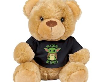 Star Wars-Mandalorian-The Child-Grogu-Baby Yoda Bear-lt green-stuffed bear novelty bear souvenir bear handmade bear custom bear teddy bear