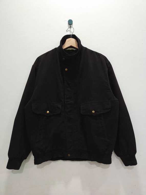 TROY BROS Bomber Jacket Small Embroidery