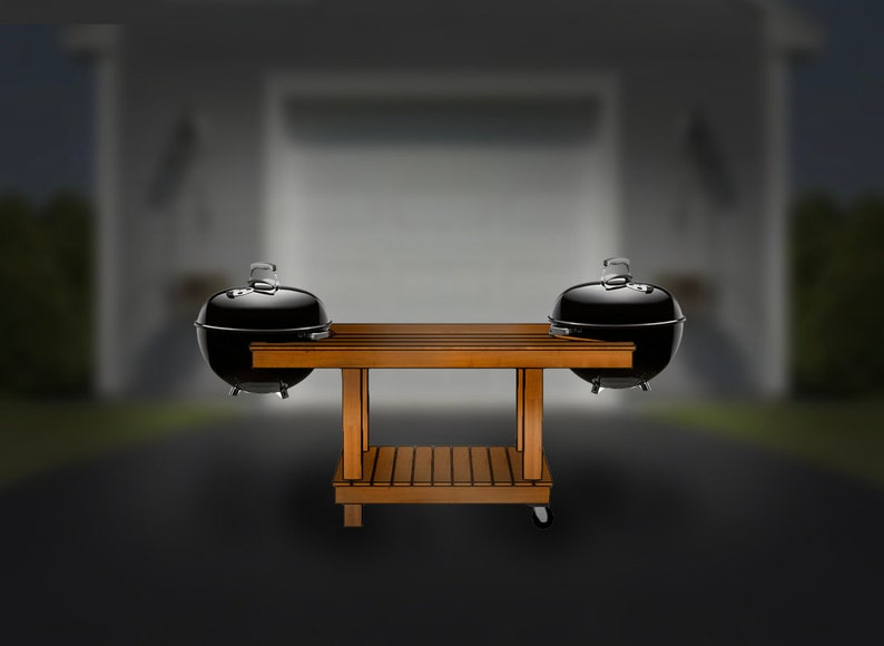 6'x3' double grillscape step-by-step assembly image 0