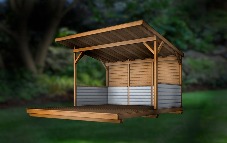 15'x16' grillscape with deck step-by-step assembly image 0