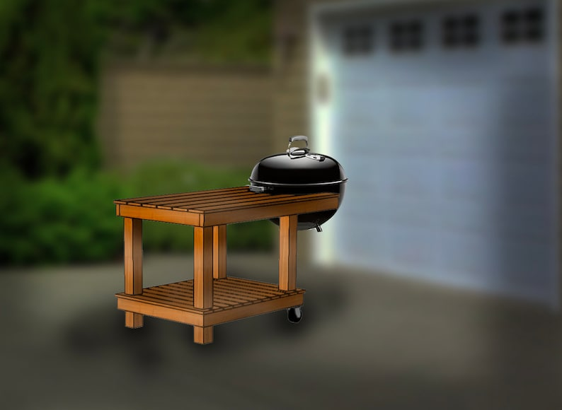 5'x3' grillscape step-by-step assembly instructions  image 0