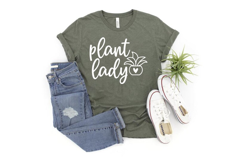Plant Lady Shirt \u2219 Garden Gifts \u2219 Crazy Plant Lady \u2219 Gardening Shirt \u2219 Plant Tshirt \u2219 Garden Tshirt \u2219 Plants are Friends \u2219 Softstyle T-Shirt