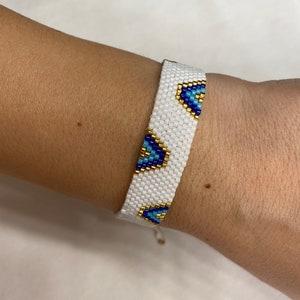 GOLD and Miyuki Beads Glamour Bracelets to use together or separately. Handmade BRACELET MIYUKI Beads Milky Way Collection