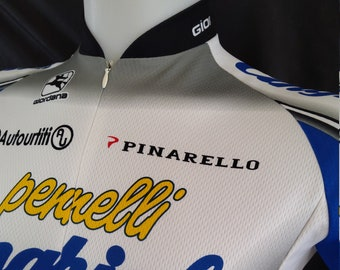 Vintage 1990s Giordana Disney Cycling Jersey Mickey Mouse All Over Print Bib Shirt Size Medium Made in Italy