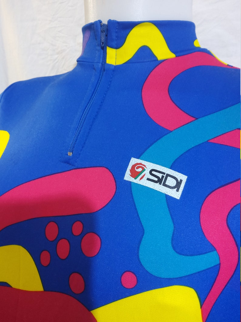 90/'s SIDI Italian Quality Cycling Shirt Unique Design and Quality Vintage Bike Top in Italy 4