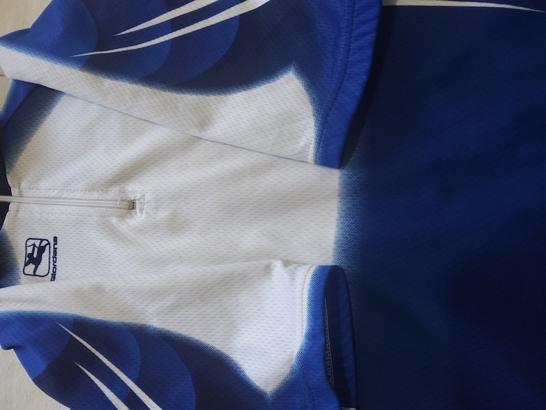 Italian Cycling Jersey 14 Extra Small Youth Size Made by Giordana Italian Quality Nice Vintage Bicycle Jersey