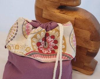 Socks Box - Project bag for knitting and crocheting
