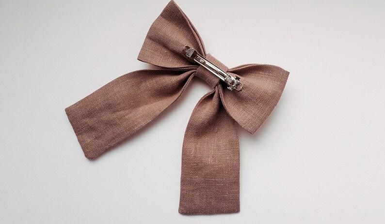 Bow headbandBow clipHair bow line