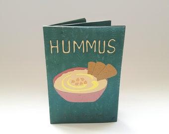 Hummus Recipe Zine, Vegan Recipe, Recipe Book, Digital Zine File