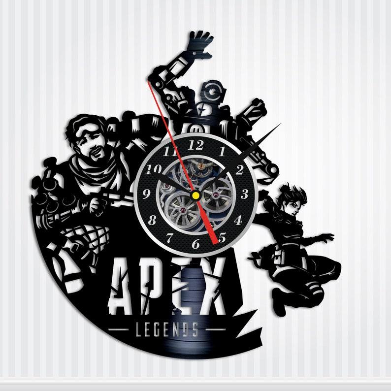 11. Apex Legends Vinyl Wall Clock