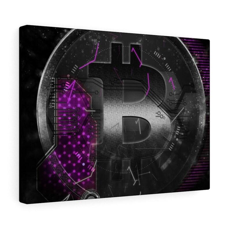 Bitcoin Canvas Cryptocurrency Gift Crypto Gift Ide Blockchain Blockchain Gift Bitcoin Gift Cryptocurrency Btc Crypto HODL Ethereum