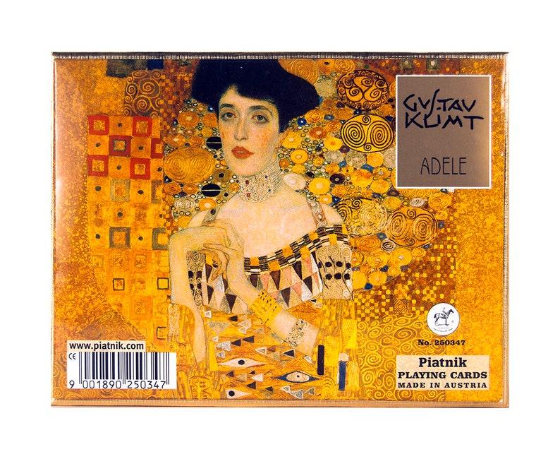 PIATNIK Double Deck Playing Cards Klimt Emilie 2502