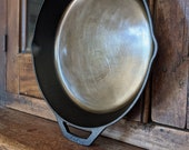 Cast Iron Skillet - Smooth Ground Pan - 12 inch