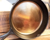 Cast Iron Skillet - Smooth Ground Pan - 10.25 inch