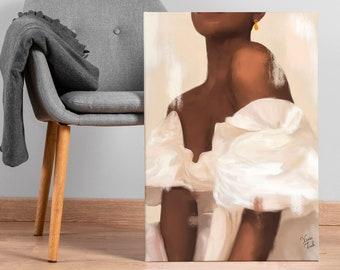 Black woman, Black art, African american art, Black girl art