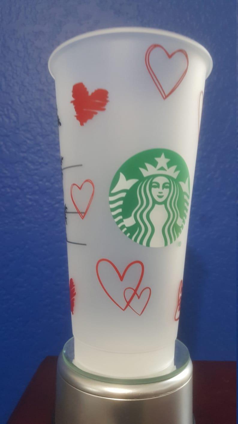 Wife Gift Love Girlfriend Gift Romantic Valentines Day Starbucks Cup Birthday Gift Be Mine Valentines Day Gift Anniversary Gift