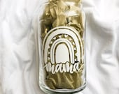 Mama Glass Beer Can