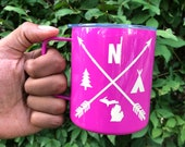 Up North Stainless Steel Camp Mug