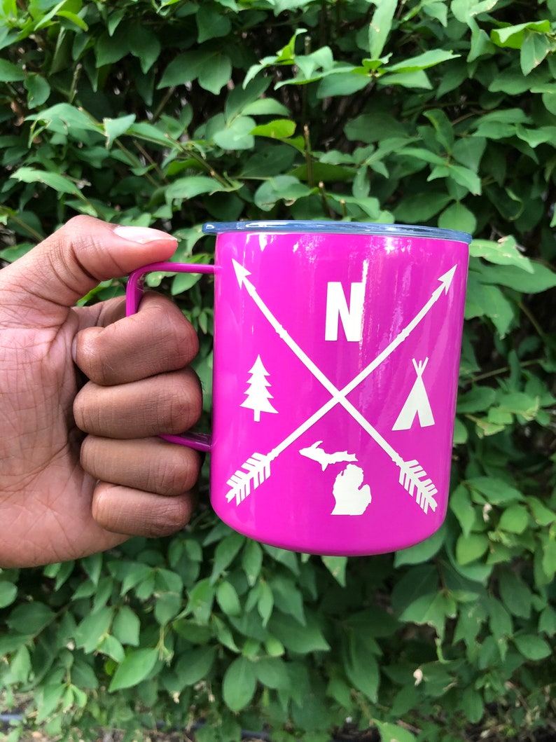 Up North Stainless Steel Camp Mug image 0