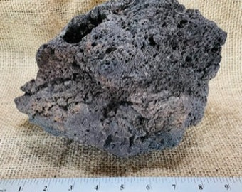 One Large, Unique Lava Rock Planter– All Natural, Perfect for Succulents and Air Plants