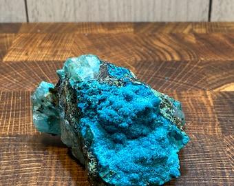 RARE Tentadora Mine  Quartz Crystal Covered In Amazing Chrysocolla Malachite Limonite Tenorite