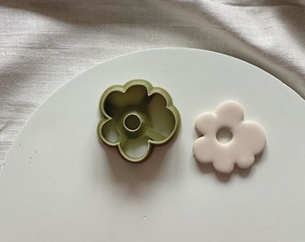 Abstract Flower Clay Cutter