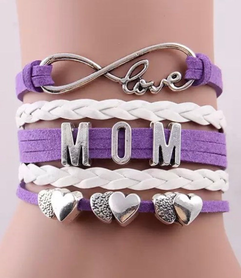 bracelets for mom from kids mother gift bracelet for mom gift for new mom Gift for mom new baby baby shower Mother\u2019s Day personalized