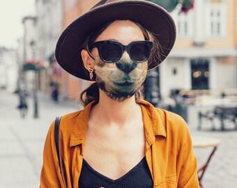 Llama Face Mask with Filter Pocket, Kids Mask, Adult Face Mask, Reusable Face Mask, Cotton, 1 Filter Included FREE