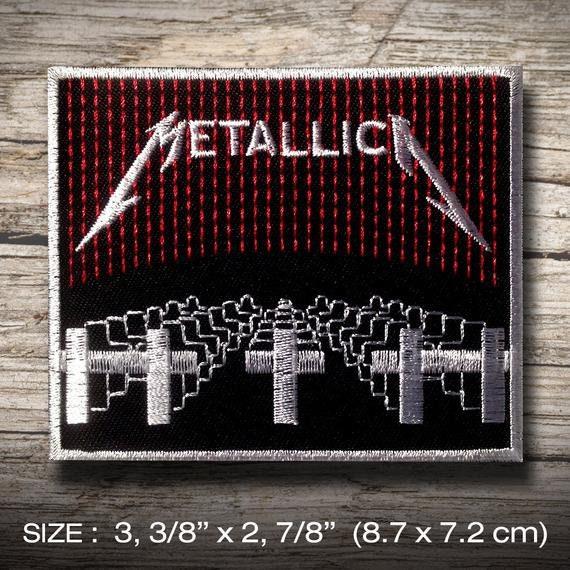 Thrash Metal TESTAMENT Patch iron on  T-Shirt  Embroidered Jacket Denim Jean  Decorate  Custom Handmade  Gift Craft Enjoy