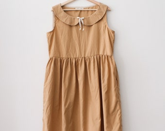 The Penelope Dress in Camel