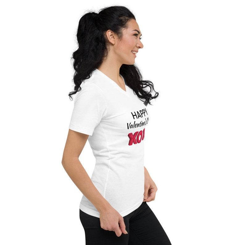 Happy Valentine/'s Shirt Heart Shirt Gift for Best Friend Shirt Gift for Mom Shirt Happy Valentines Tee Love Tshirt Valentines Shirt