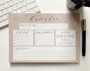 RamadanEid Gift ImamDeen Notes KidsAdults  MuslimIslamic Stationary Alhamdullilah GratefulDuas NotePad