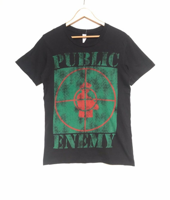 Public Enemy tee Rap tee Hiphop tee small size