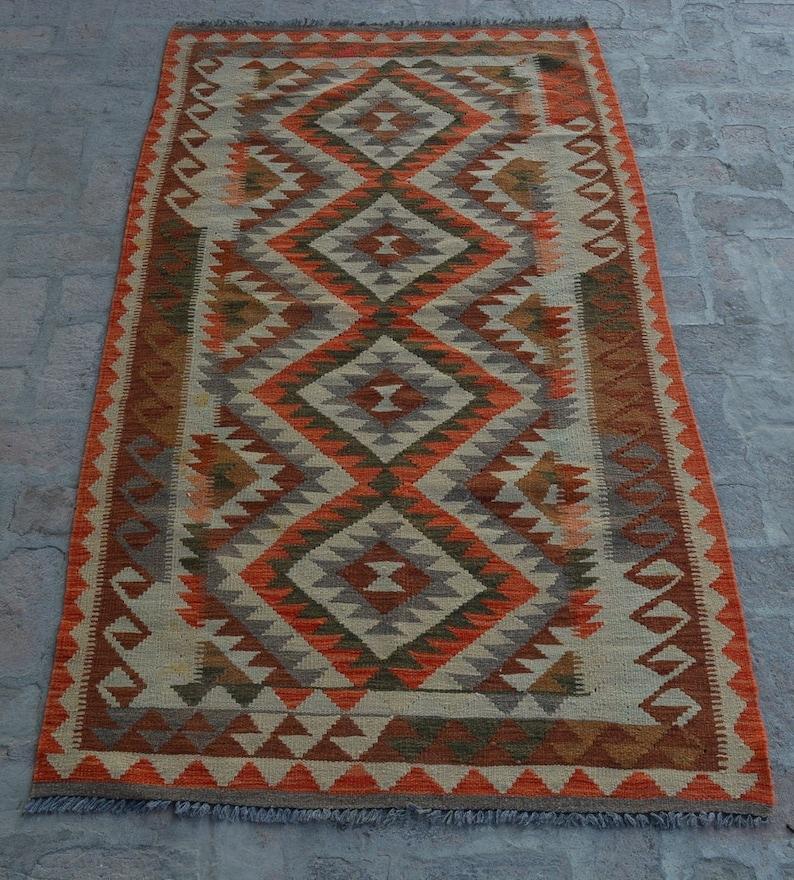 hand woven kilim. chobi rug maimana kilim free shipping afghan kilim turkish kilim chobi kilim size 210 x 113 cm vegetable dye kilim