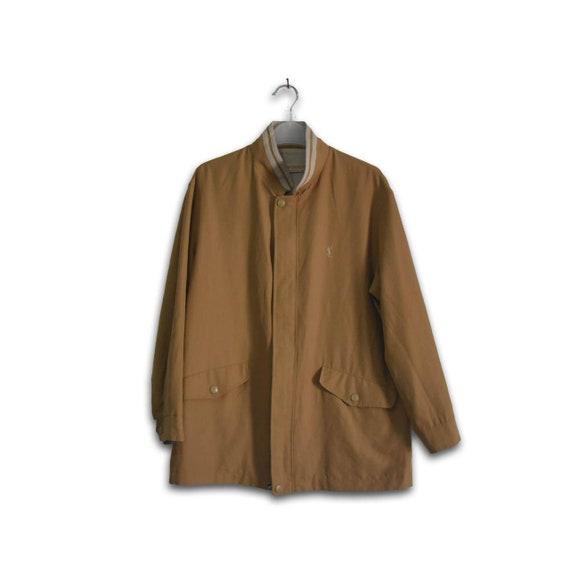 Vintages yves saint laurent reversible jacket