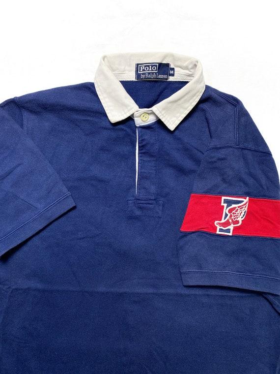Vintage Polo Stadium P Wing Polo Shirt