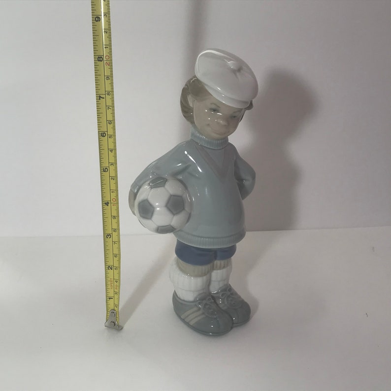 Lladro Soccer player figurine made in Spain signed