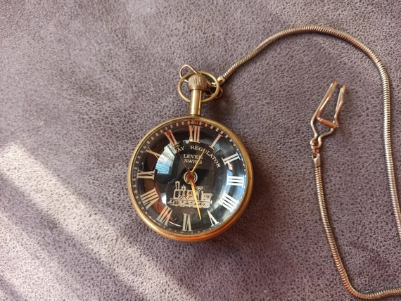 Rare swiss lever pocket and table clock