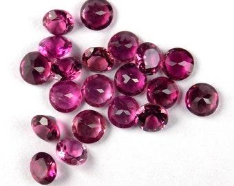 3mm Round Loose Pink Tourmaline Gorgeous Pink Tone!10pcs