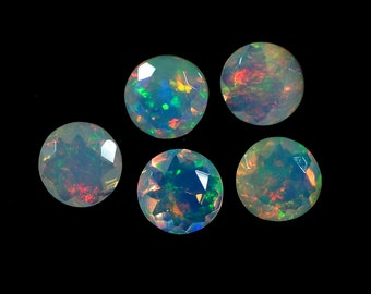 best fire Ethiopian Opal 20.2x13.4x7.5mm 8.80 carats opal with multicoloured fire natural opal from Africa pear shape,loose stone