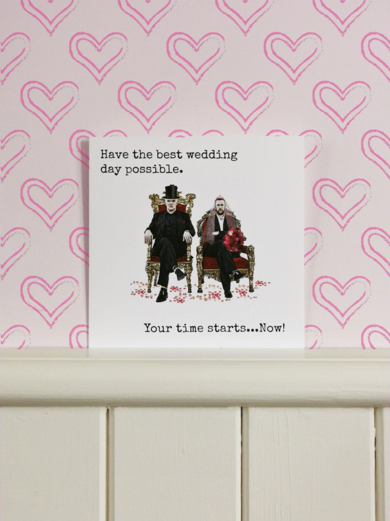 Have The Best Wedding Day Possible Taskmaster Wedding Day Greetings Card