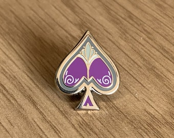 Asexual Ace Pin