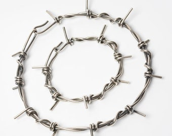 Barb Wire Necklace