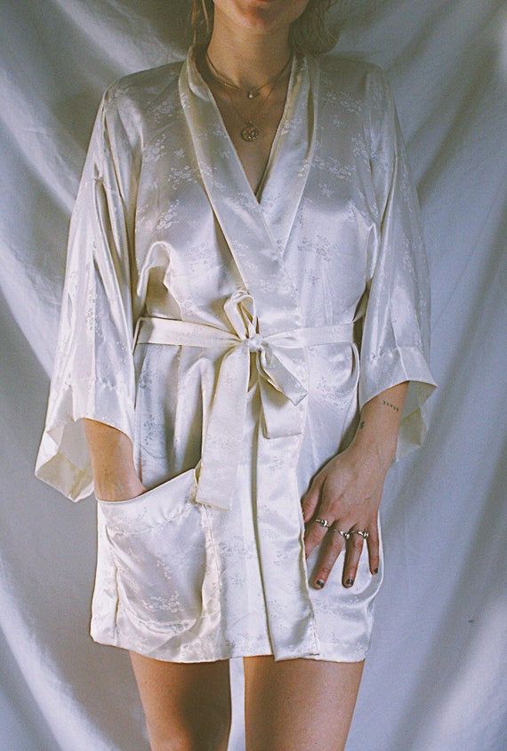 Vintage Silk Robe