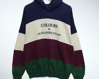 COLORS  ALEXANDER JULIAN  Vintage Sweatshirt  90/'s    Never Worn Still With Tags On