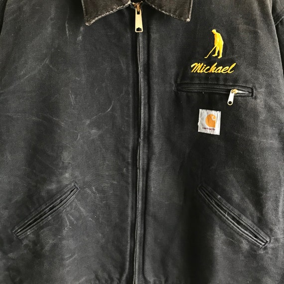 Vintage Carhartt Sherpa Workers Jacket Carhartt V… - image 2
