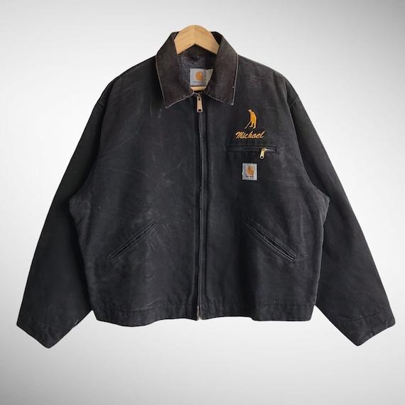 Vintage Carhartt Sherpa Workers Jacket Carhartt V… - image 1