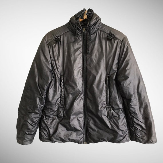 Vintage Fendi Roma 90s Down Puffer Jacket Fendi Bl